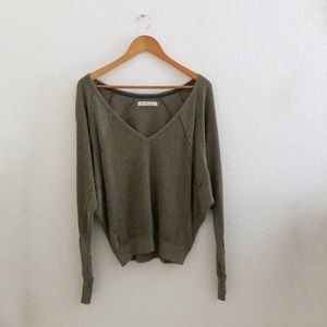 We the Free Free People • Waffle Knit Sweater Cute